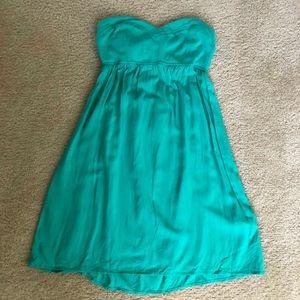 Express strapless dress size xs